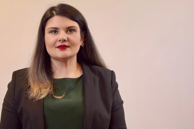 Katy Vuylsteker, secrétaire régionale EELV, fait partie de la liste candidate à la région Hauts-de-France. (Crédit : Katy Vuylsteker)