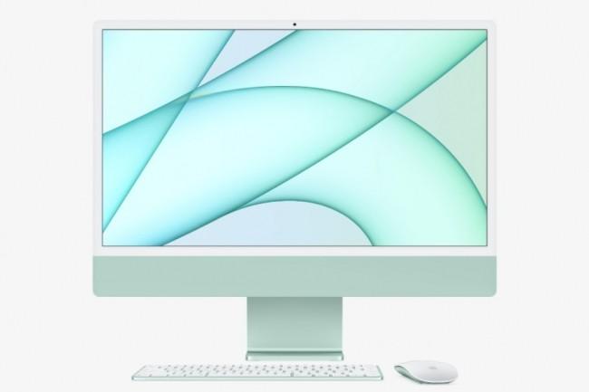 Touch ID est proposé en standard dans les modèles à 1 388 €HT et 1 580 €HT avec GPU à 8 noyaux de l'iMac. (crédit : Apple)