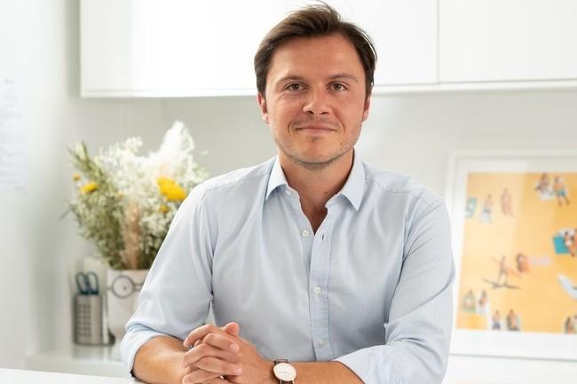 Maxime Trouche, DG et fondateur de la start-up lyonnaise Reecall. (Crédit : Reecall)