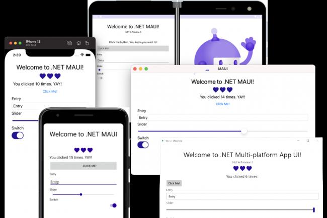Pour la plupart des types d'applications, il est possible d'utiliser .NET Hot Reload pour appliquer les modifications de code sans avoir à redémarrer. (Crédit Microsoft)