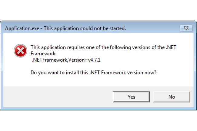 La fin de vie de plusieurs versions de .NET Framework a été annoncée par Microsoft. (Crédit Photo: Microsoft)