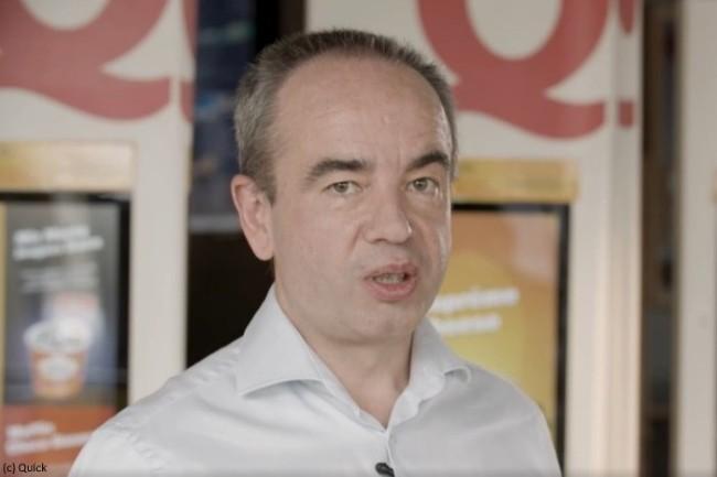Marc Brisset, DSI de Quick : « avec Hub One, nous avons décidé de faire un premier test sur un restaurant, une greffe WiFi. »