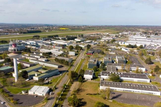 Avec 4000 emplois dans le secteur numérique, Lannion et sa technopole Anticipa (ci-dessus) concentre 45 % de la recherche française en télécom. (Crédit photo : Repère de l'Ouest)