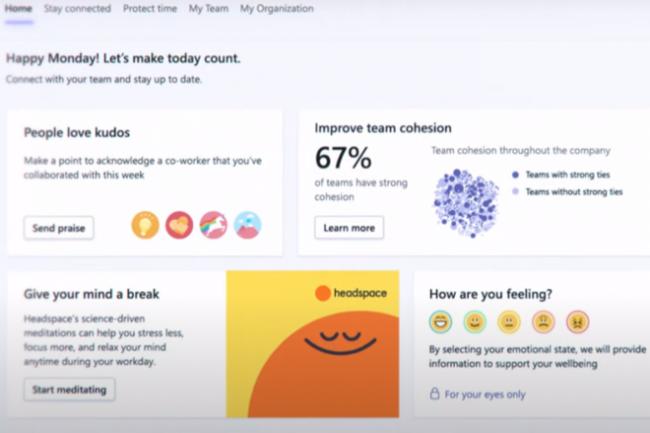 En voulant créer un score d'anxiété depuis des données biométriques, Microsoft devra être vigilant sur la vie privée. (Crédit : Microsoft)