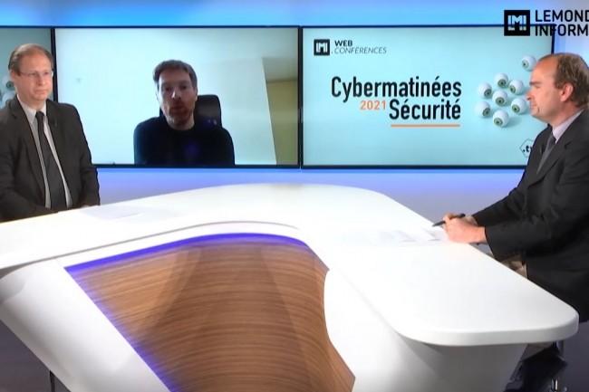 Nicolas Bourgeois, DPO de Mobivia et membre de l'AFCDP, témoigne sur la Cybermatinée Sécurité du Monde Informatique ce 5 mai 2021. (crédit : LMI)