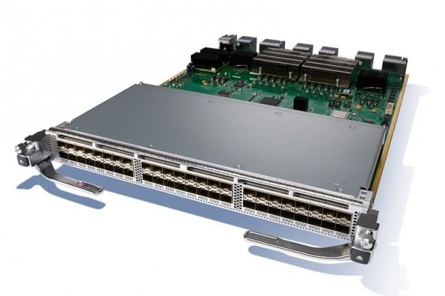 Les switchs FC Cisco MDS 9700 prennent d�sormais en charge un module de commutation 48 ports � 64 Gbit / s avec des E / S non bloquantes. (Cr�dit Cisco)