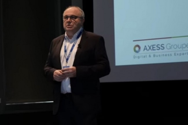 Fond�e et pr�sid�e par Gilles Tr�hiou (en photo), Axess Groupe a fait appel aux services d'In Extenso Finance & Transmission pour mener � bien le rachat de Starxpert. Cr�dit photo : Axes Groupe.