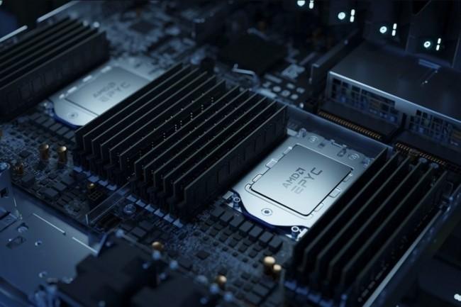 AMD prend des parts de marché sur le segment de marché des puces serveurs au début 2021. (Crédit Photo: AMD)