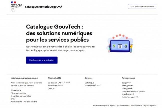 La Dinum a mis en ligne le catalogue GouvTech d'applications recommandées.