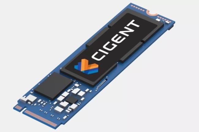 Les SSD de Cigent embarque un moteur qui associé au contrôleur détecte les menaces et cachent les fichiers sensibles dans un espace sécurisé. (Crédit Photo: Cigent)