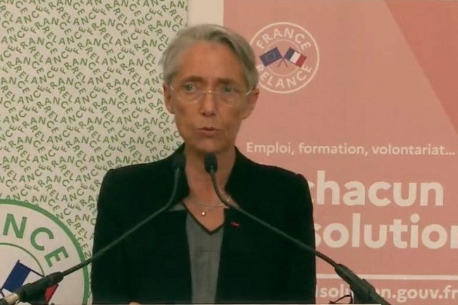Ce jeudi, Elisabeth Borne, ministre du Travail, de l'Emploi et de l'Insertion a présenté les grandes lignes du programme de formation GEN. (Crédit photo: ministèredutravail.gouv)