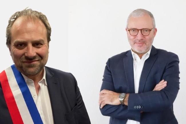François Deseille (à gauche) et Denis Thuriot (à droite) sont candidats pour les élections régionales en Bourgogne-Franche-Comté. (Crédit : François Deseille / Denis Thuriot)