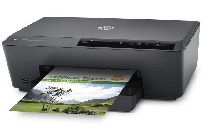 Les imprimantes jet d'encre se sont particulièrement bien vendues selon IDC. (Crédit Photo: HP)