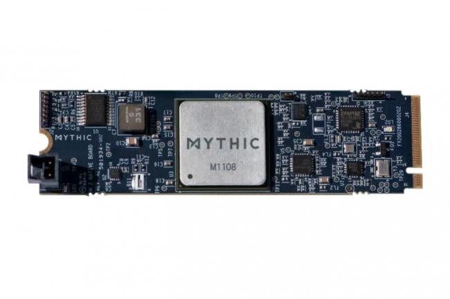 Mythic AI récolte des fonds pour produire en masses ses puces edge M1108 . (Crédit Mythic AI)