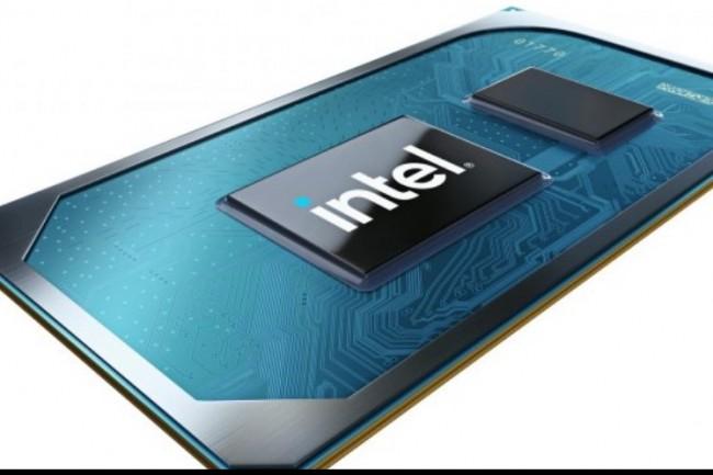 Les derniers processeurs Tiger Lake-U bénéficient d'une finesse de gravure 10mm. (crédit : Intel)