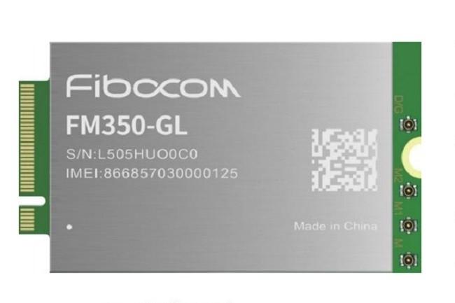Pour apporter la 5G aux PC �quip�s de puces Tiger Lake, Intel a choisi de travailler avec Fibocom et Mediatek fournisseurs de cette carte au format M.2.. (Cr�dit Intel)