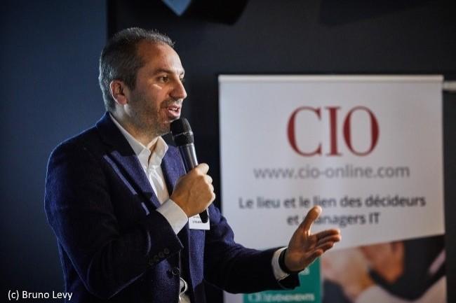 Fabrice Marsella, directeur de l'incubateur Le Village By CA Paris du Crédit Agricole, a été le Grand Témoin de la matinée CIO « OpenDSI : la DSI à la recherche de l'innovation » le 20 novembre 2018.