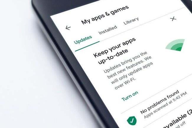 Lorsqu'un utilisateur d'Android dont le GPS est activ� sur son t�l�phone se rend sur le Google Play Store, l'application s'empare des informations de localisation. (Cr�dit : Mohamed Hassan, Pixabay)