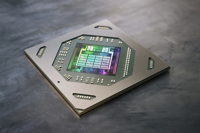« Les livraisons de machines portables basées sur les circuits Radeon RX 6800M et Radeon RX 6600M ont démarré », a déclaré AMD. (Crédit AMD)