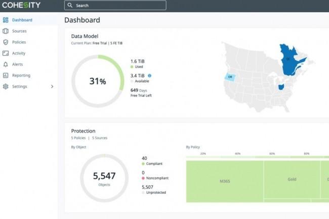 DataProtect as a service de Cohesity est maintenant disponible en Europe. (crédit : Cohesity)