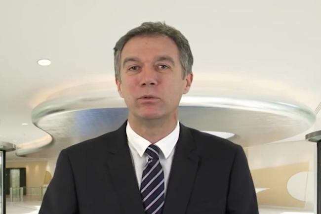 Philippe Vannier, président de l'ACN (alliance pour la confiance numérique) a présenté les grandes lignes de l'observatoire 2021 de la filière de la confiance numérique. (Crédit Photo : Bull)