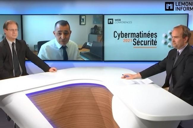 Gr�gory Bouet, RSSI de la mairie de Toulouse a �t� le grand t�moin de la Cybermatin�e S�curit� Occitanie 2021. (cr�dit : LMI)