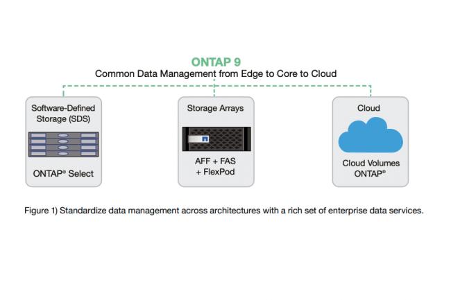 Ontap 9.9 9.9 apporte la sauvegarde automatique et la hi�rarchisation des donn�es sur site vers le stockage objet StorageGRID de NetApp ainsi que vers les clouds publics. (Cr�dit NetApp)