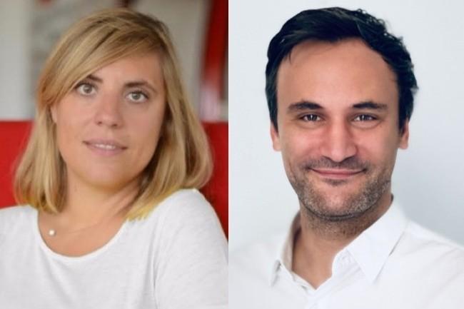 De gauche à droite: Bettina Seibert Sandt, responsable Digital et CRM, et Vincent Boniakos, responsable Digital IT de la Compagnie des Alpes, qui triomphent cette année.