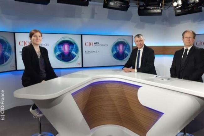 De gauche à droite : Aurélie Chandeze (rédactrice en chef adjointe de CIO), Bertrand Lemaire (rédacteur en chef de CIO) et Jacques Cheminat (rédacteur en chef de LMI). crédit : CIO