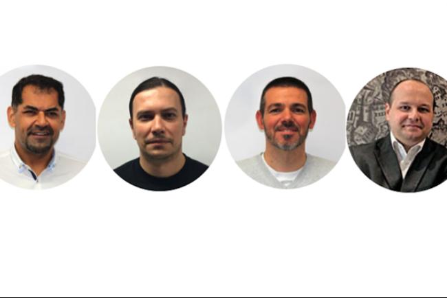 Les quatre cofondateurs d'Integrity rachet� par Devoteam.