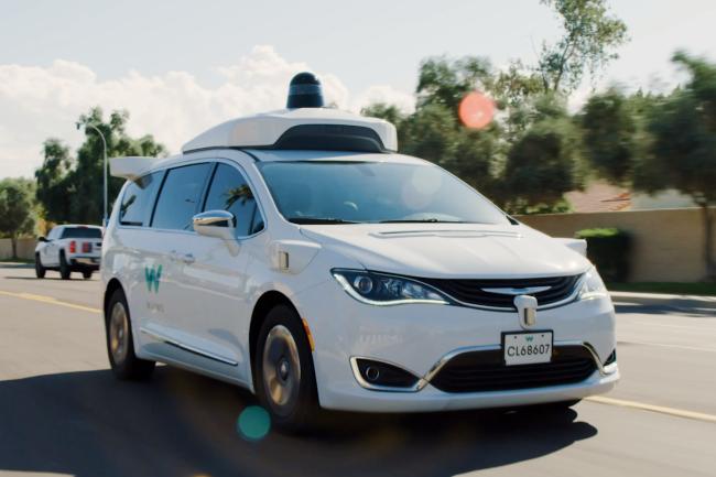 Waymo vient de lever 2,5 milliards de dollars pour acc�l�rer le d�veloppement commercial de sa technologie de conduite autonome. (Cr�dit Photo: Waymo)