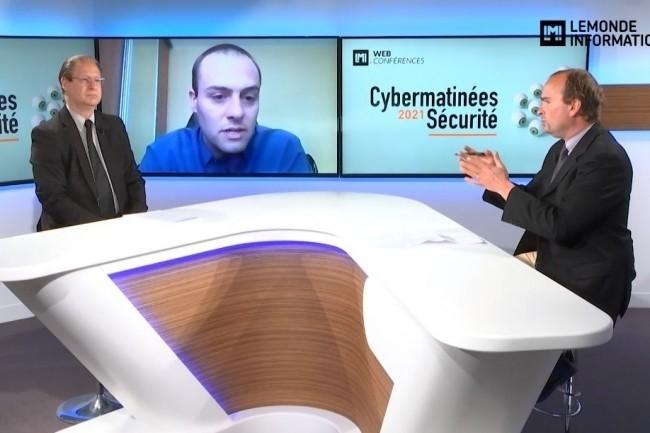 Fr�d�rick Meyer, RSSI d'Auchan Retail a �t� le grand t�moin de la webconf�rence Cybermatin�e S�curit� Hauts-de-France 2021. (cr�dit : LMI)