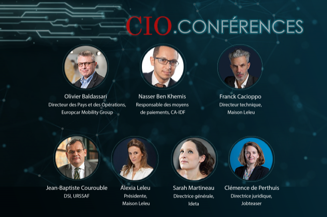 La CIO.expériences «L'innovation au service des métiers» sera diffusée le 1er juillet 2021 sous forme de webconférence.