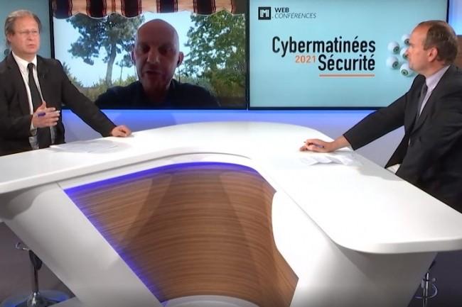 Gurvan Quenet, RSSI de l'a�roport de Bordeaux et �galement pr�sident du Cluisir Nouvelle Aquitaine a �t� le grand t�moin de la Cybermatin�e S�curit� Nouvelle Aquitaine 2021. (cr�dit : LMI)