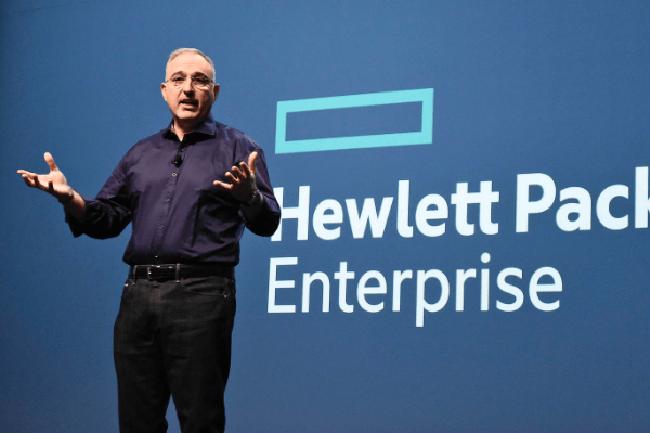 Antonio Neri, CEO de HPE, veut acc�l�rer le d�ploiement de GreenLake. (Cr�dit Photo : DR)