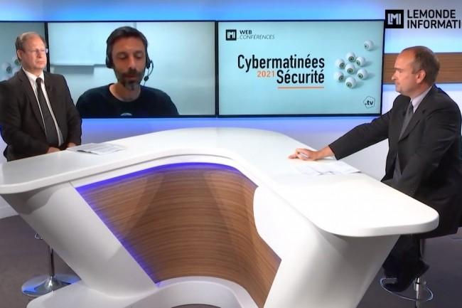 Luc Dufresne RSSI d'Angers Loire M�tropole est le grand t�moin de l'�tape Pays de la Loire des Cybermatin�es S�curit� 2021 du Monde Informatique. (cr�dit : LMI)