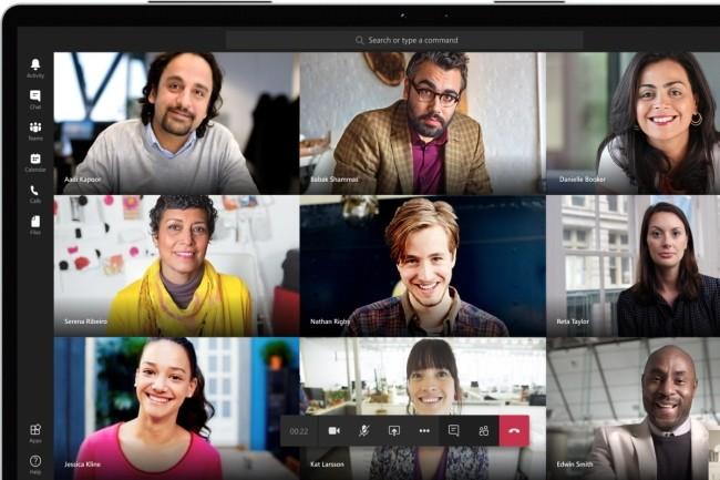 Avec l'enregistrement des réunions Teams, Microsoft prévoit une fonction d'effacement automatique pour optimiser les capacités de stockage. (Crédit Photo : Microsoft)