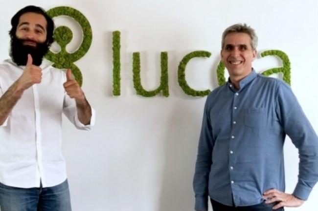 L'équipe de Bloom at Work (à gauche, son PDG Charles de Fréminville) rejoint celle de Lucca, présidé par Gilles Satgé (à droite) pour renforcer l'expérience RH des collaborateurs. (Crédit : Lucca)