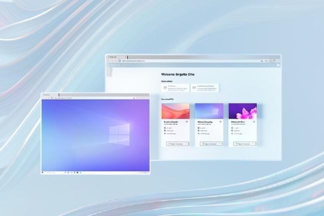 Avec Windows 265, Microsoft acc�l�re sur le PC as a Service dans un contexte o� le t�l�travail se d�veloppe. (Cr�dit Photo: Microsoft)