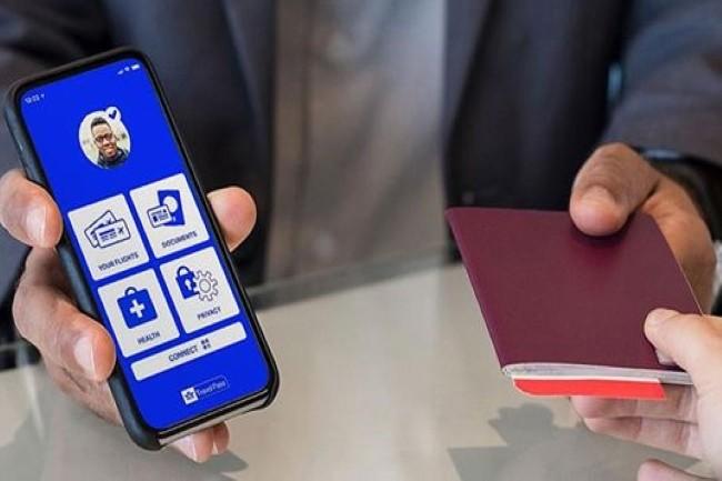 Air France a annonc� le service Ready to Fly pour int�grer le pass sanitaire lors de l'�mission du billet. La firme avait test� en juin l'application IATA Travel Pass. (Cr�dit Photo : Air France)