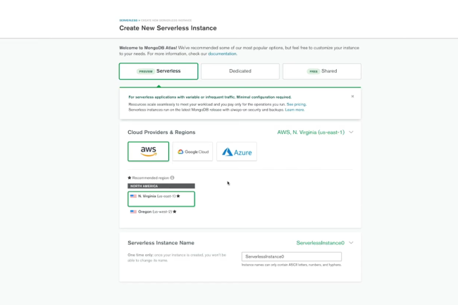 MongoDB lance des instances serverless pour son offre de DBaaS Atlas. (Crédit Photo: MongoDB)