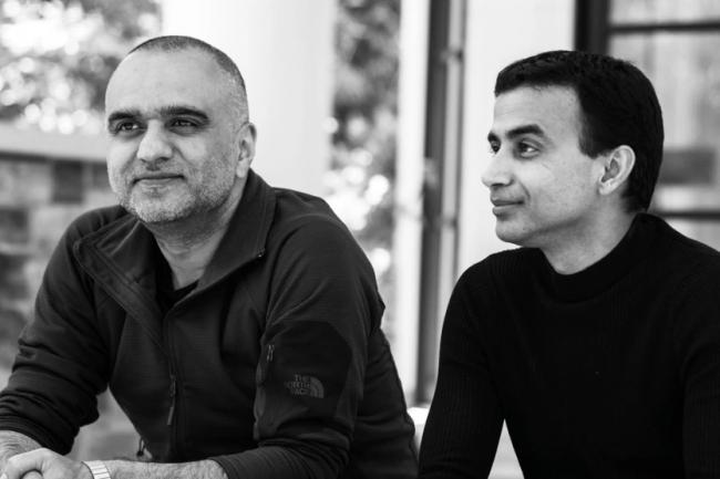 Dheeraj Pandey (à gauche) et Manoj Agarwal (à droite), les deux cofondateurs de DevRev. (Crédit DevRev)