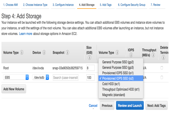 Dans certaines r�gions, il sera possible d'int�grer un volume EBS io2 Block Express avec une instance EC2 R5b. (Cr�dit Photo: AWS)
