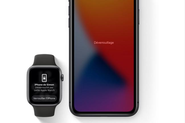 En corrigeant une faille, iOS 14.7.1 a �galement d�sactiv� la fonction � d�verrouiller avec l'iPhone � utilis�e par les Apple Watch. (Cr�dit : Apple)