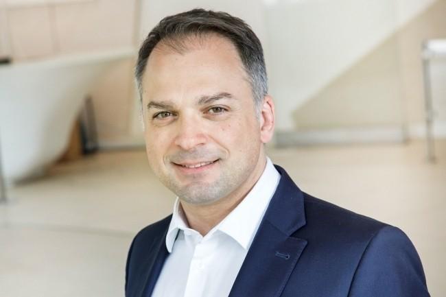Elie Girard, DG d'Atos, estime qu'� l'avenir, l'activit� du groupe se concentrera sur le cloud, le digital, la s�curit� et la d�carbonation. (Cr�dit : Atos)