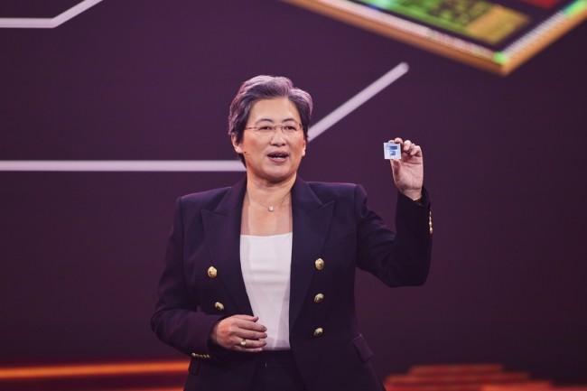 La CEO d'AMD, Lisa SU, a indiqu� que les ventes de PC allaient se calmer ! (Cr�dit AMD)