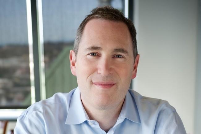 Andy Jassy, nouveau CEO d'Amazon est ravi des r�sultats de l'activit� d'AWS qu'il a dirig� auparavant.  (Cr�dit : Amazon)