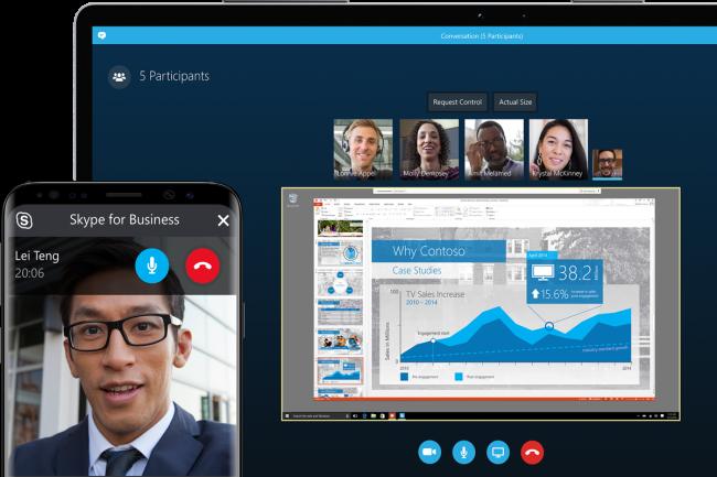Le 31 juillet sonnera le glas pour Skype for Business, les derniers utilisateurs sont invit�s � migrer sur Teams. (Cr�dit Photo: Microsoft)