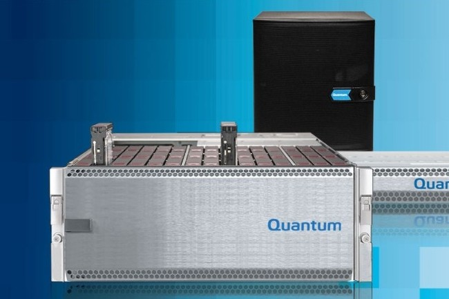 Suite au rachat d'actifs de Pivot3, Quantum met la main sur des brevets en mati�re de stockage distribu�, placement des donn�es, erasure coding et qualit� de service du stockage. (cr�dit : Quantum)
