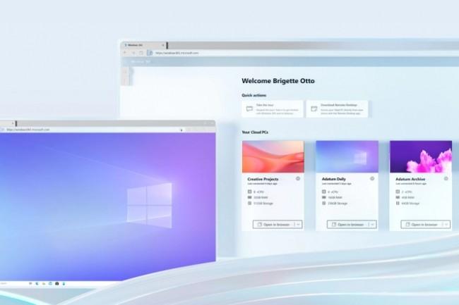 Windows 365 : le PC cloud de Microsoft dès 18,2€ par mois